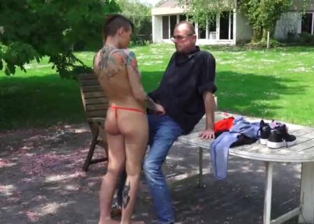 homo opa sex dildo sletjes