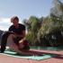 Roodharige Yoga instructeur heeft geile neukseks