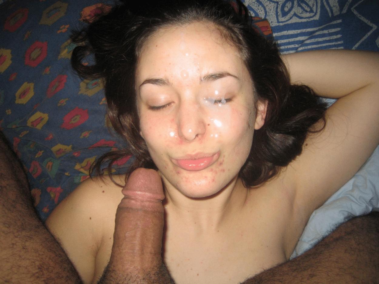 Girlfriend cum mouth gifs