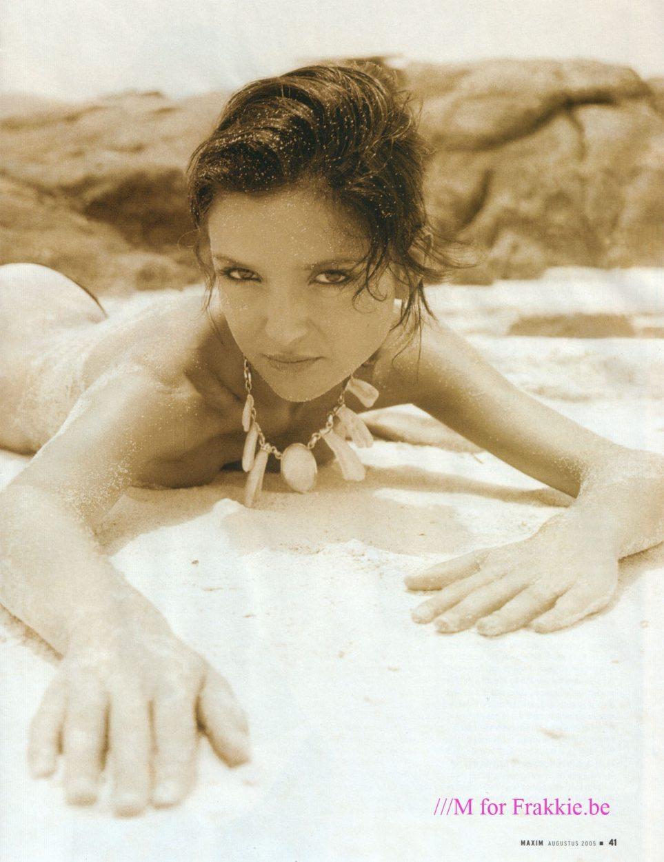 Nackt Brigitta Callens  20 jaar