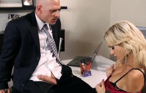 professioneel blond anaal