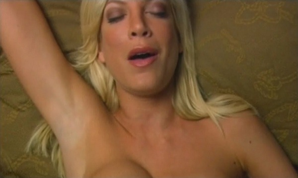 Tori spelling sex scene apologise, but
