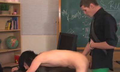 homo porno school