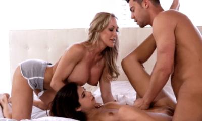 twee jongens pijpen elkaar moeder leert dochter pijpen
