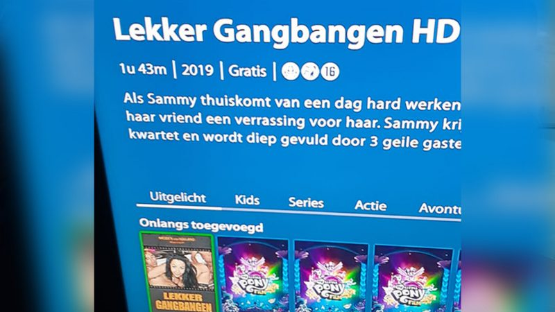Lekker gangbangen HD op zender van KPN